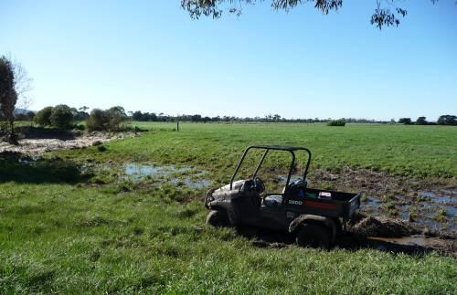 Bogged farm UTV