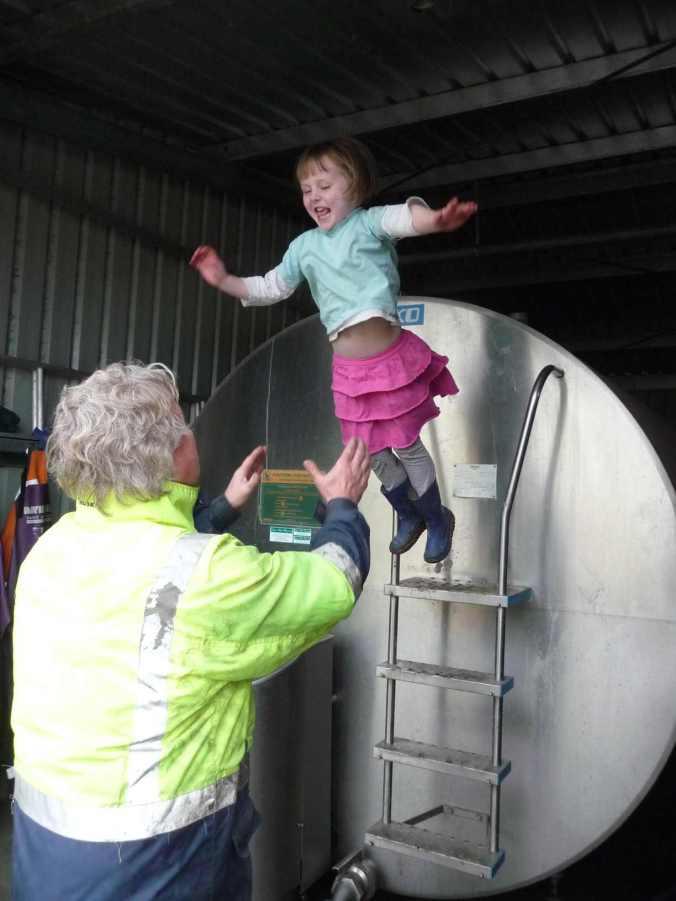 Jumping off the milk vat