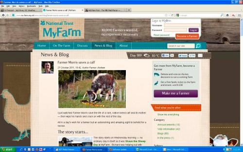 MyFarm screenshot