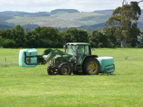 Bringing in the silage