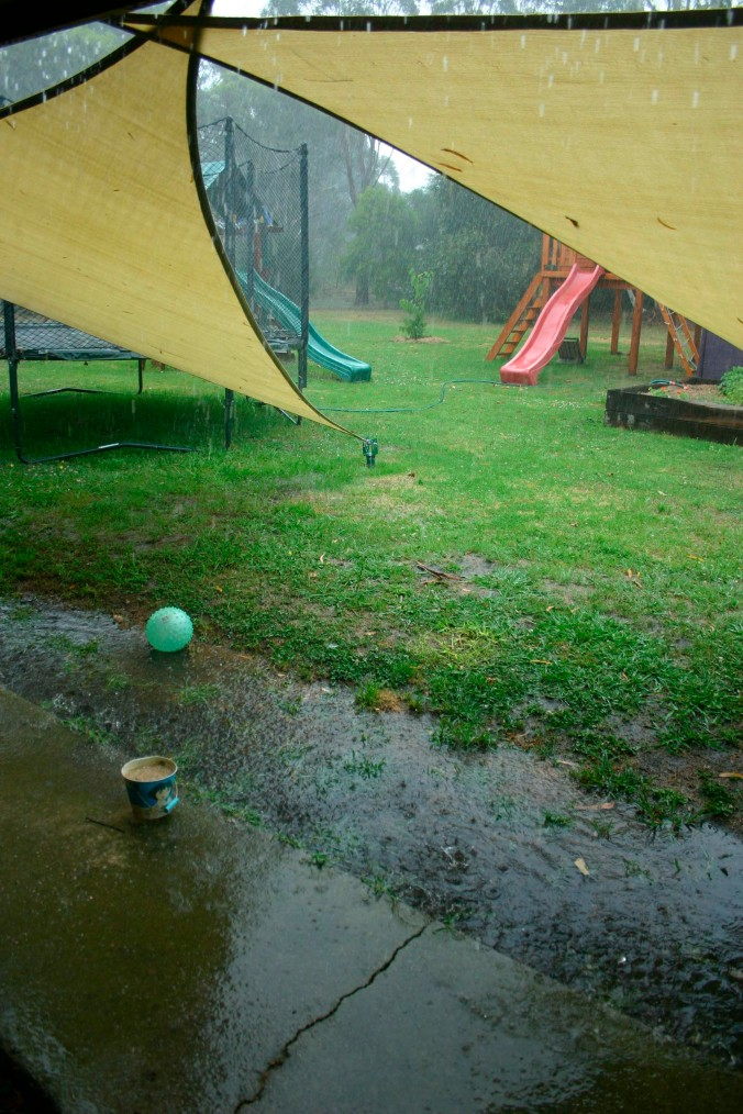 What a downpour