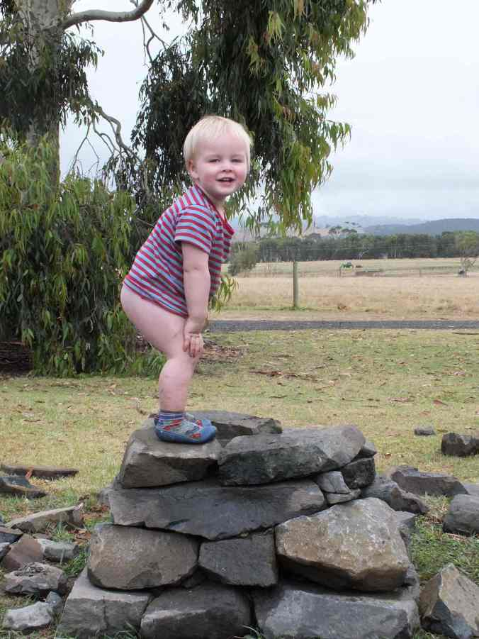 The Thor Cairn was the perfect place to celebrate and pay homage